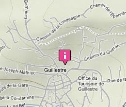 Carte d'accès à la communauté de commune du Guillestrois