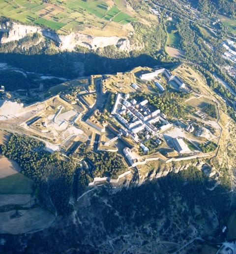 Vue Mont-Dauphin