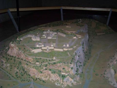 Maquette de Mont-Dauphin